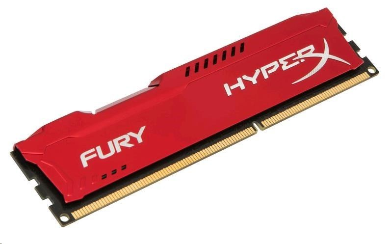 Kingston Moduł pamięci HyperX/8G 1333Mhz DDR3 CL9 DIMM Fury Red