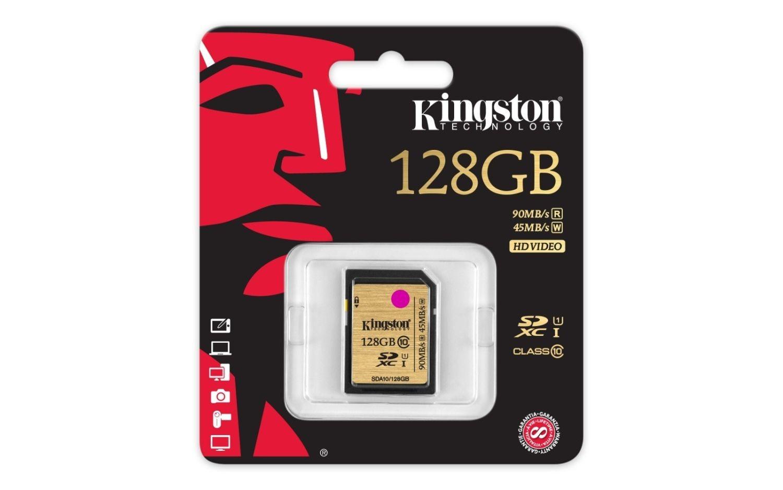 Kingston karta pamięci SDXC 128GB SDHC Class10 UHS-I Ultimate