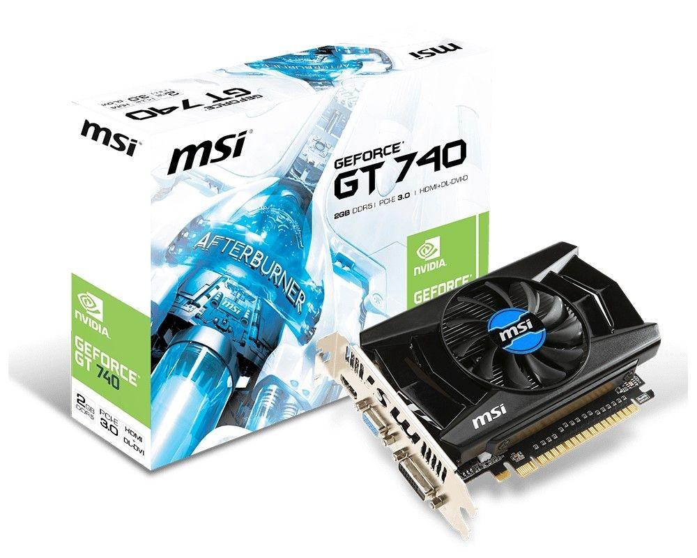 MSI KARTA PCI-E 2048MB GEFORCE GT740 128bit DDR5 DVI/HDMI/D-Sub /MSI