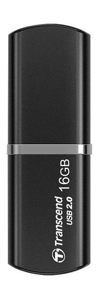 Transcend USB Flash Disk JetFlash320, 16GB, USB 2.0, Black