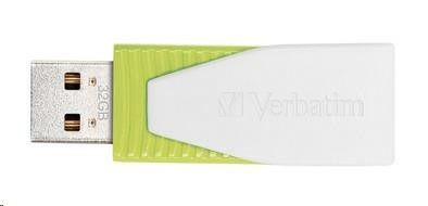 Verbatim USB Flash Disk Swivel 32GB - eukalyptově zelená