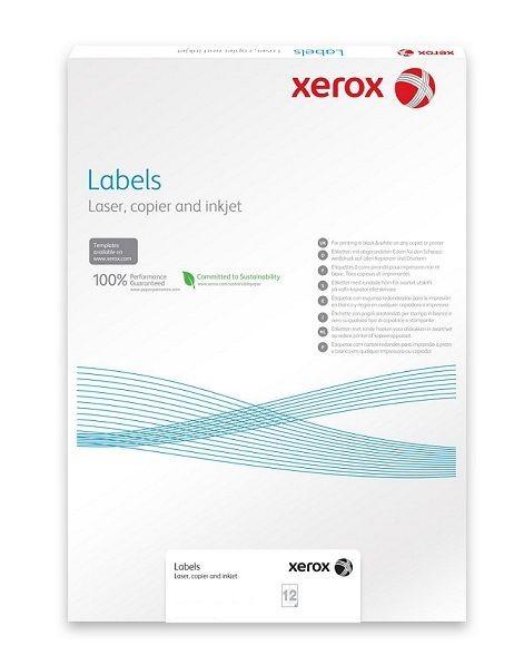 Xerox Plastový samolepicí materiál Xerox PNT Label - Clear (229g/100 listů, A3)