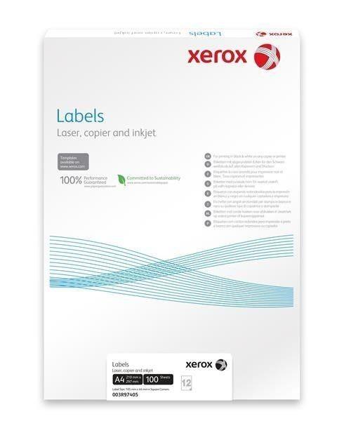 Xerox Papír samolepící štítky - Labels 8UP 105x71 (100 listů, A4)