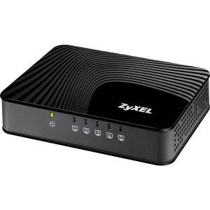 ZyXEL Zyxel GS-105S v2 5-Port Desktop Gigabit Ethernet Media Switch