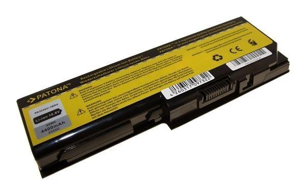 Patona Baterie Patona pro TOSHIBA SATELLITE P200 4400mAh Li-Ion 10,8V