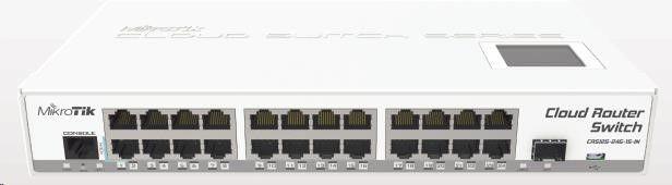 MikroTik CRS125-24G-1S-IN (600 MHz 128MB L5)