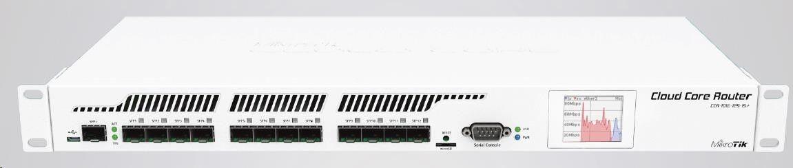 MikroTik CCR1016-12S-1S+ Router (12xGLAN SFP)