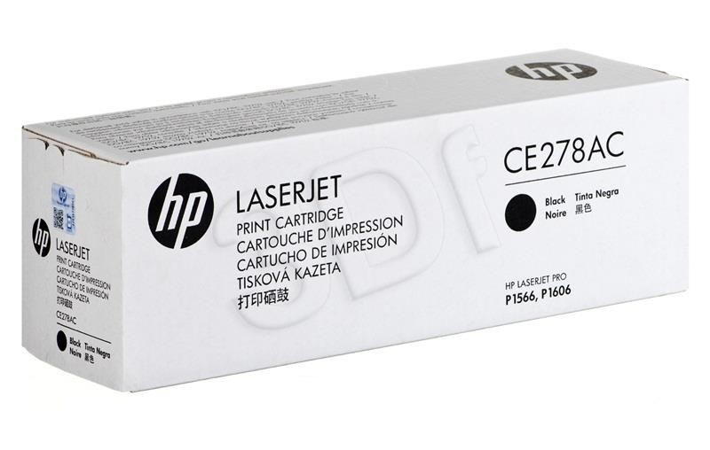 HP Toner HP 78A black   2100str   kontraktowy   LJ P1566/1606DN