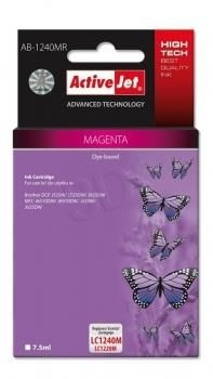 ActiveJet Tusz ActiveJet AB-1240MR | Magenta | 7,5 ml | Brother LC1240M, LC1220M