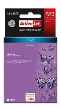 ActiveJet Tusz ActiveJet AB-985CR | Cyan | 8,5 ml | Brother LC985C