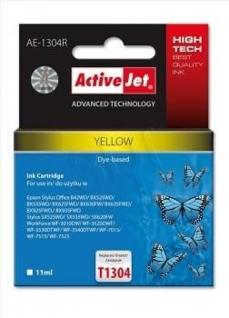 ActiveJet Tusz ActiveJet AE-1304R | Yellow | 12 ml | Epson T1304