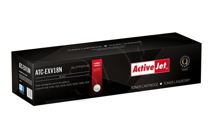 ActiveJet Toner ActiveJet ATC-EXV18N | Czarny | 8400 pp | Canon C-EXV18