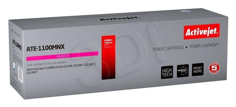 ActiveJet Toner ActiveJet ATE-1100MNX | Magenta | 4000 pp | Epson C13S050188