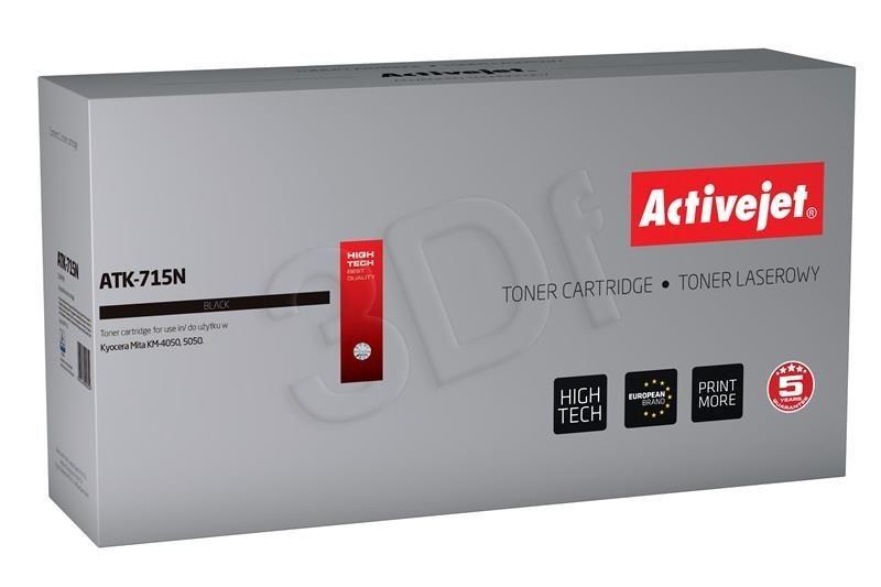 ActiveJet Toner ActiveJet ATK-715N | Czarny | 34000 pp | KYOCERA TK-715