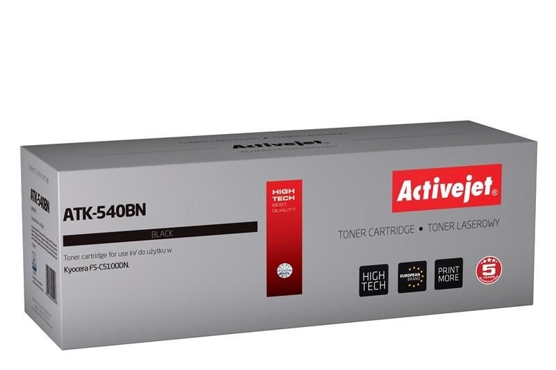 ActiveJet Toner ActiveJet ATK-540BN | Czarny | 5000 pp | KYOCERA TK-540K