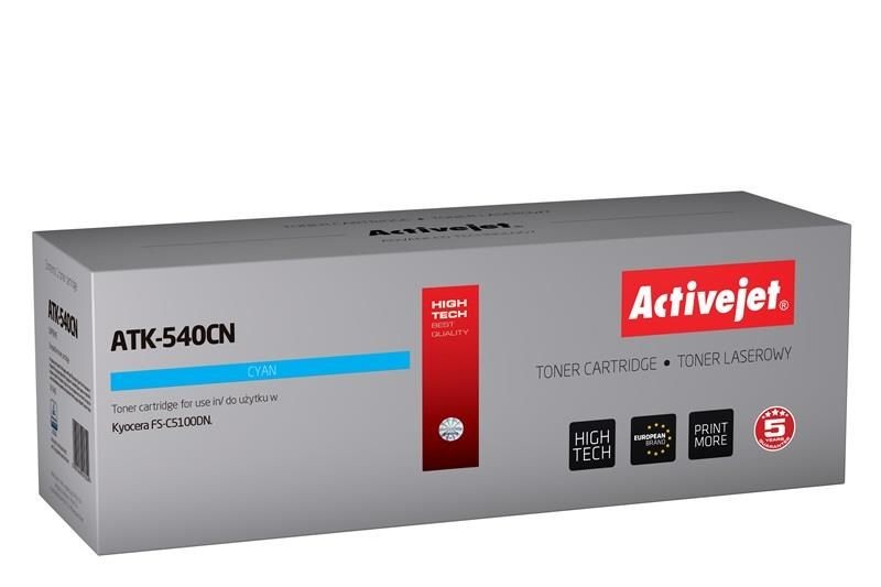 ActiveJet Toner ActiveJet ATK-540CN | Cyan | 4000 pp | KYOCERA TK-540C
