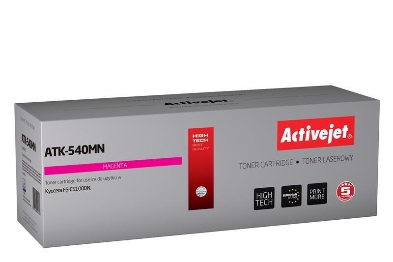 ActiveJet Toner ActiveJet ATK-540MN | Magenta | 4000 pp | KYOCERA TK-540M