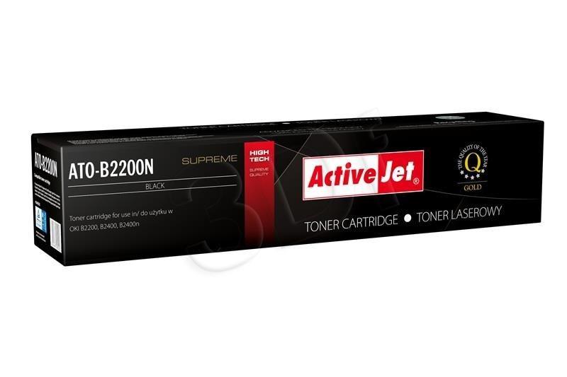 ActiveJet Toner ActiveJet ATO-B2200N | Czarny | 2000 pp | OKI 43640302