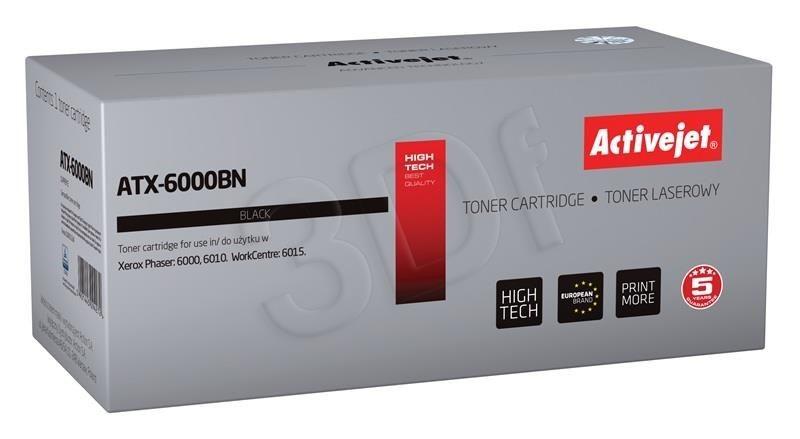 ActiveJet Toner ActiveJet ATX-6000BN | Czarny | 2000 pp | Xerox 106R01634