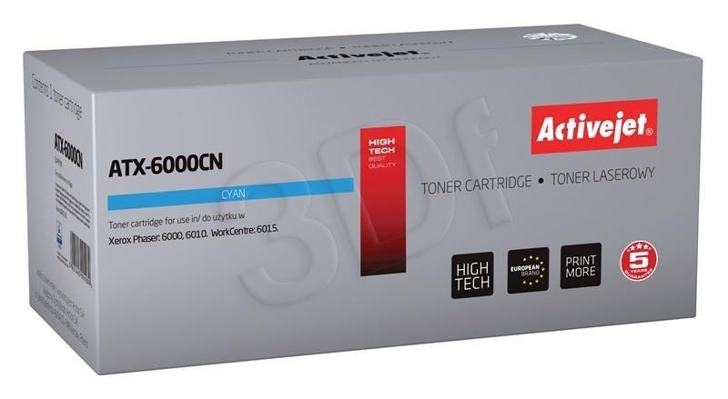 ActiveJet Toner ActiveJet ATX-6000CN | Cyan | 1000 pp | Xerox 106R01631