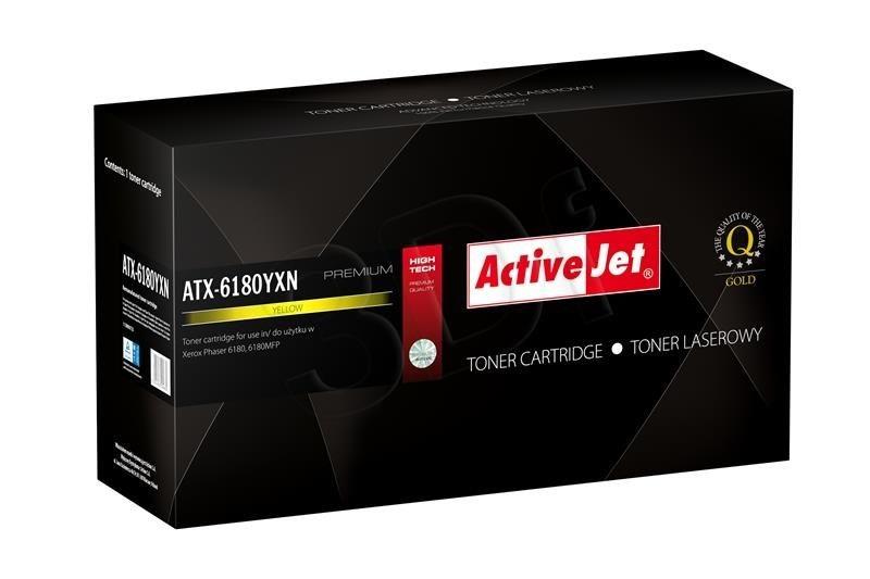 ActiveJet Toner ActiveJet ATX-6180YXN | Yellow | 6000 pp | Xerox 113R00725