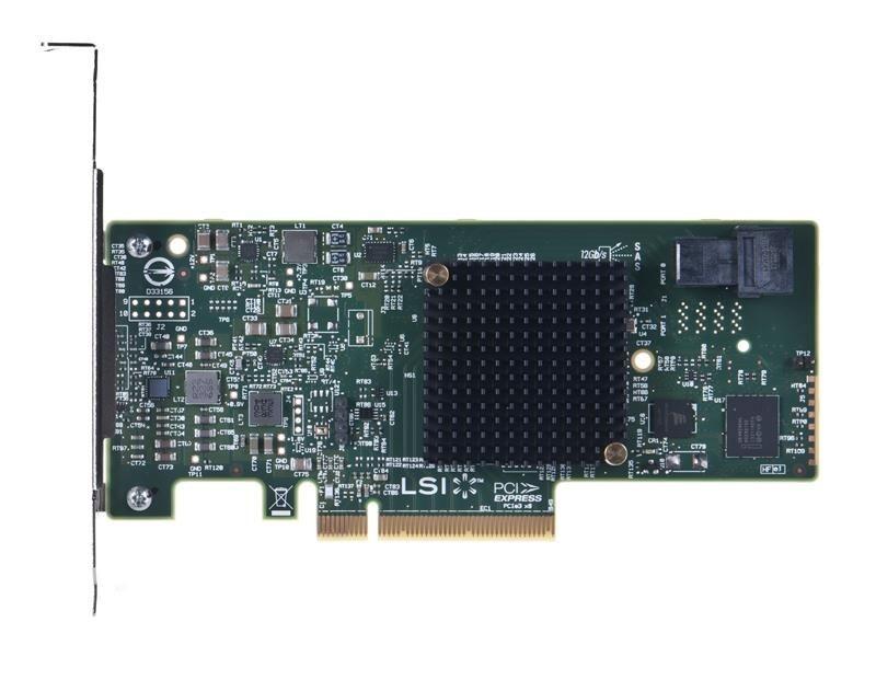 LSI KONTROLER HBA SAS/SATA 9300-4i 12Gb/s 4P W SGL