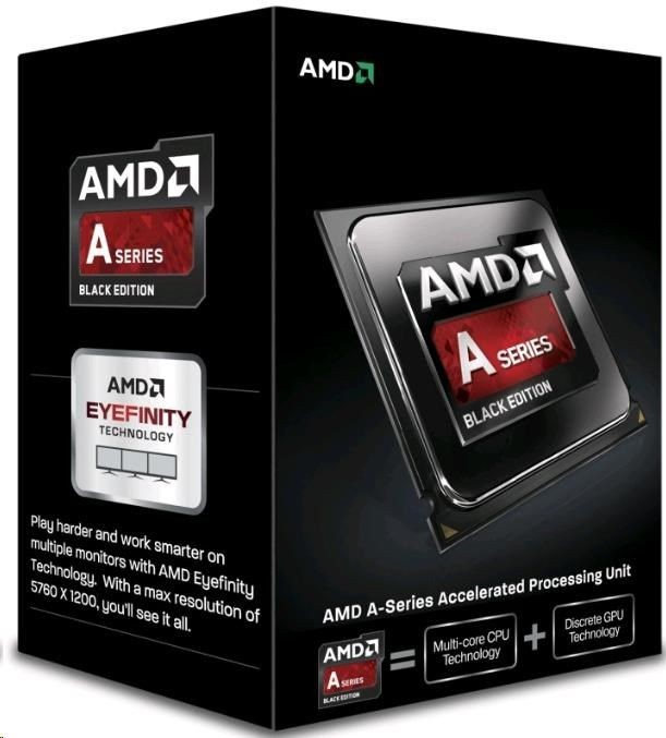AMD APU A6-7400K, Dual Core, 3.50GHz, 1MB, FM2, 28nm, 65W, VGA, BOX, BE
