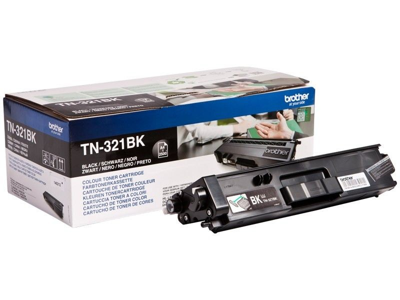 Brother Toner TN321BK black | 2500str | HL-L8250CDN