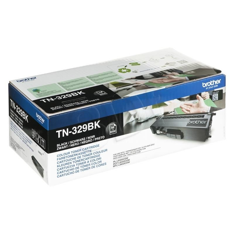 Brother Toner TN329BK black | 6 000str | HL-L8350CDW