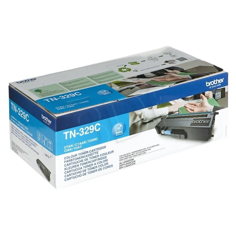 Brother Toner TN329C cyan | 6 000str | HL-L8350CDW
