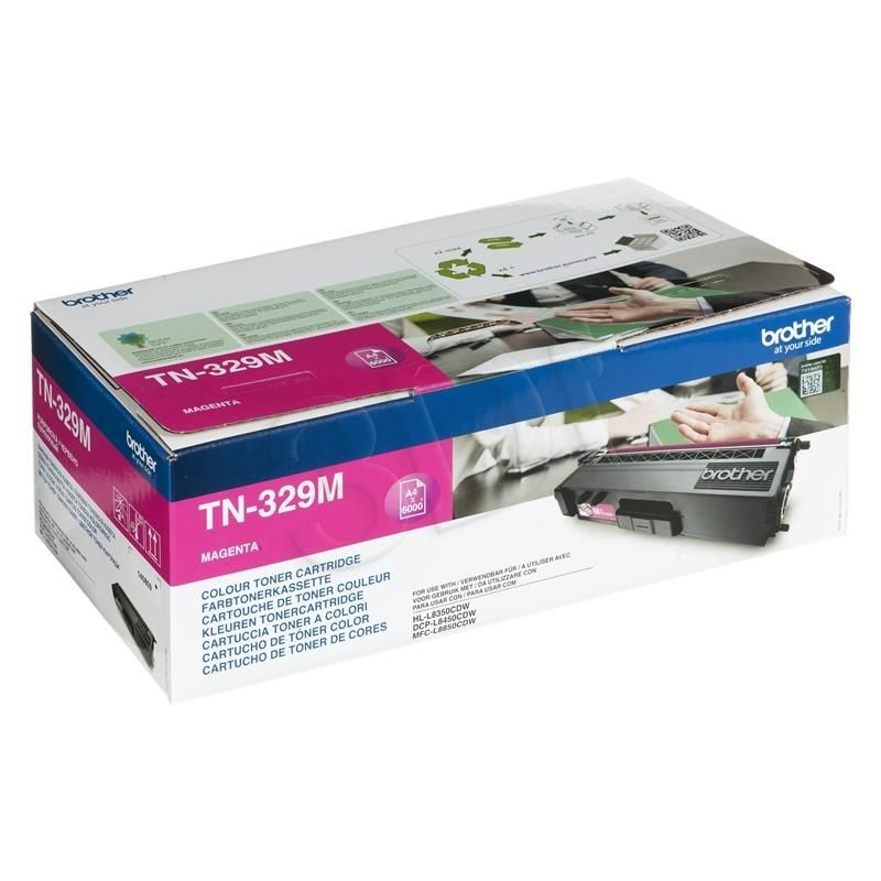 Brother Toner TN329M magenta | 6 000str | HL-L8350CDW