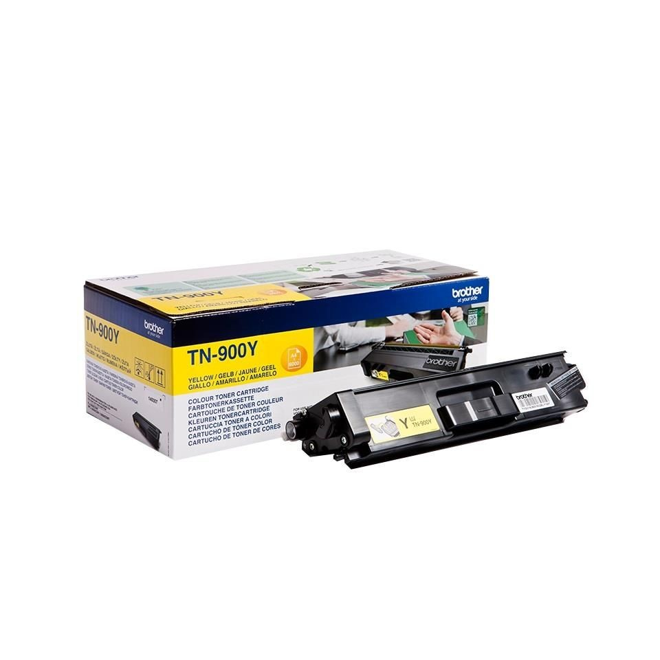 Brother Toner TN900Y yellow | 6 000str | HL-L9200CDWT
