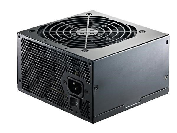 Cooler Master B series 600W, 120mm FAN, High efficiency more than 83%, Active PFC PSU, retail packing 600 W, 552 W