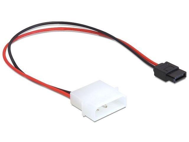 DeLOCK kabel SATA zasilający MOLEX (M) -> SATA(F) 6 PIN, 24cm