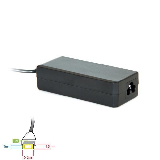 Digitalbox zasilacz 20V/3.25A 65W wtyk 10.6x4.5mm(prostokąt) + pin Lenovo Yoga