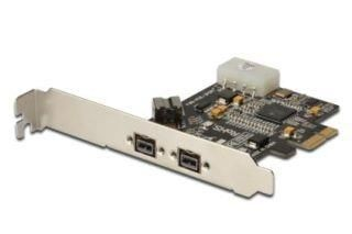 Digitus Kontroler PCI-E do Firewire 800/800 2x IEEE1394b +1x IEEE1394b, 5 LGW