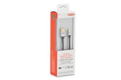 ednet Kabel miniHDMI Highspeed 1.3 Typ HDMI A/HDMI C, M/M czarny 2.0m blister