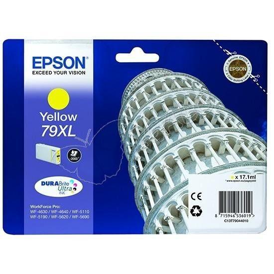 Epson Tusz yellow T7904 | 17 ml | WF-5110DW/WF-5190DW/WF-5620DWF/WF-5690DWF