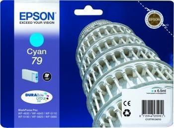 Epson Tusz cyan T7912 | 7 ml | WF-5110DW/WF-5190DW/WF-5620DWF/WF-5690DWF