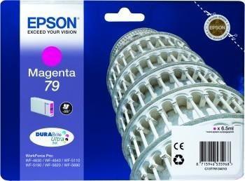 Epson Tusz magenta T7913 | 7 ml | WF-5110DW/WF-5190DW/WF-5620DWF/WF-5690DWF