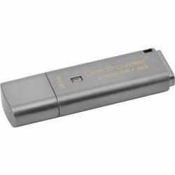 Kingston pamięć USB 3.0 8GB DT Locker+ G3 w/Automatic Data Security, CO-LOGO