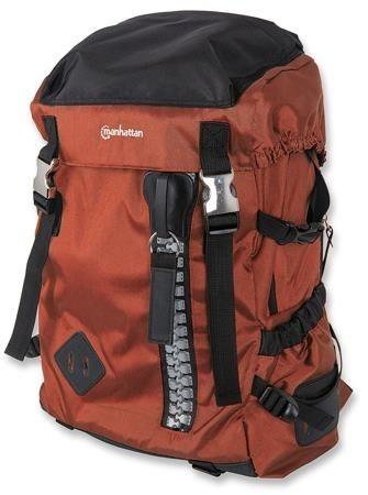 Manhattan Plecak na notebooka Zippack 15,6'' pomarańczowo/czarny