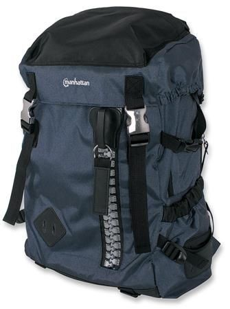 Manhattan Plecak na notebooka Zippack 15,6'' niebiesko/czarny