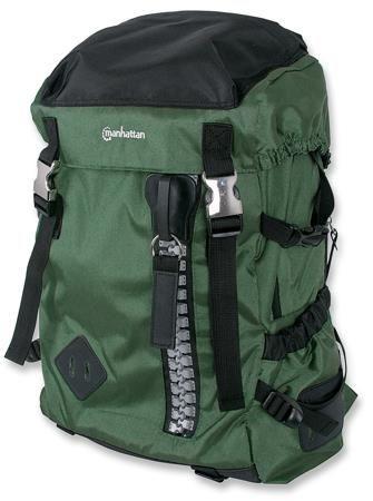 Manhattan Plecak na notebooka Zippack 15,6'' zielono/czarny