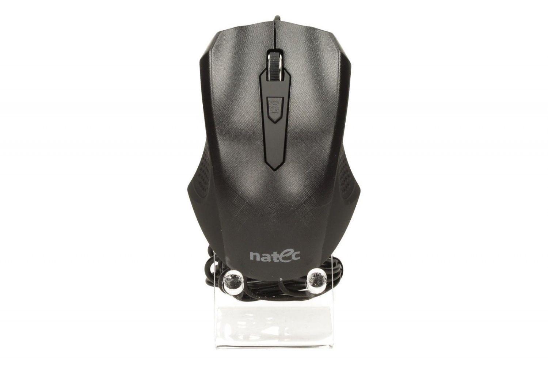 NATEC Mysz optyczna PUFFIN USB, BLACK
