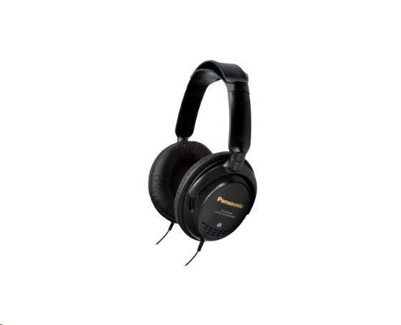 Panasonic stereo sluchátka RP-HTF295E-K, 3,5 mm jack, černá