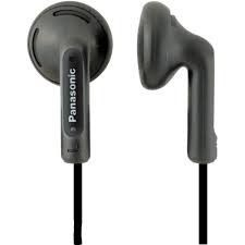 Panasonic Słuchawki douszne Panasonic RP-HV095E-K | czarny