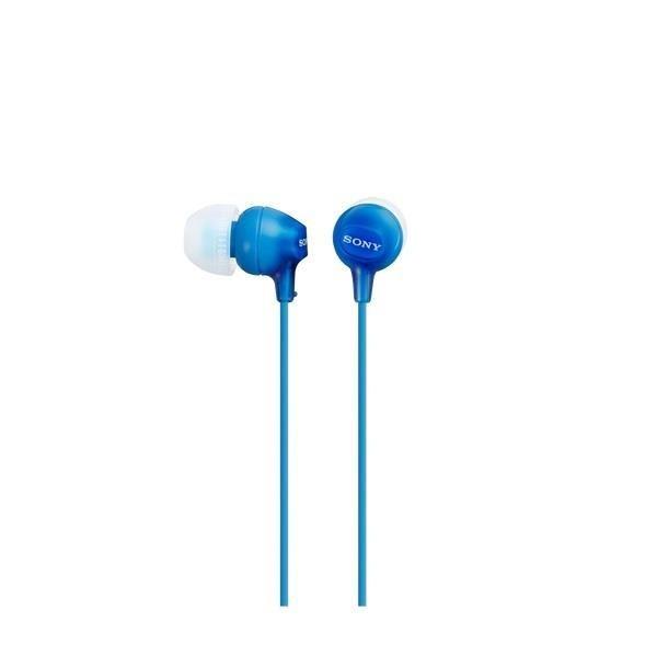Sony Słuchawki douszne zamknięte niebieskie SONY MDREX15LPLI.AE