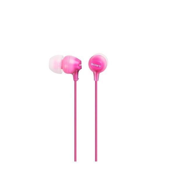 Sony Słuchawki douszne zamknięte różowe SONY MDREX15LPPI.AE