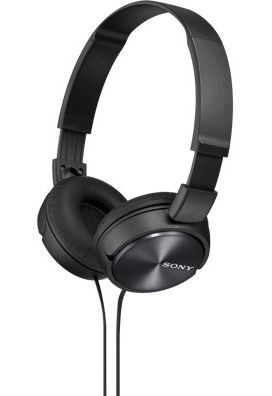 Sony Słuchawki nauszne zamknięte składane, czarne SONY MDRZX310B.AE